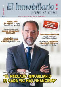 Revista El Inmobiliario mes a mes, número 152, junio julio 2016. Noticias del sector inmobiliario español.