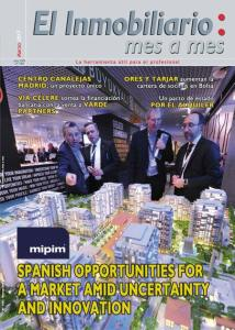 Revista El Inmobiliario mes a mes, número 158, marzo 2017. Noticias del sector inmobiliario español.
