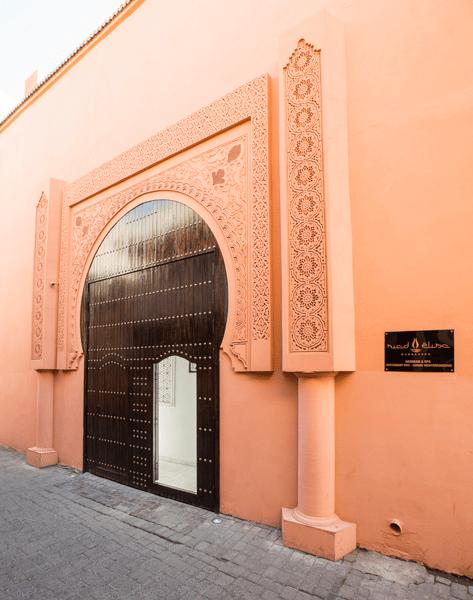 Entrada al Riad Elisa