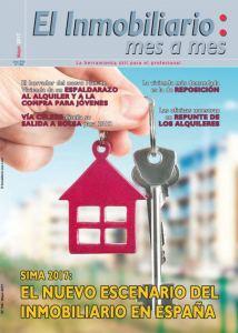 Revista El Inmobiliario mes a mes, Especial SIMA - número 160, mayo 2017. Noticias del sector inmobiliario español.