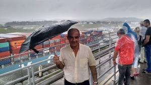 El Canal de Panamá, acechado por una tormenta tropical