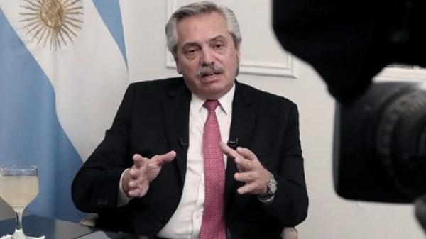 ricos pobres Alberto Fernández