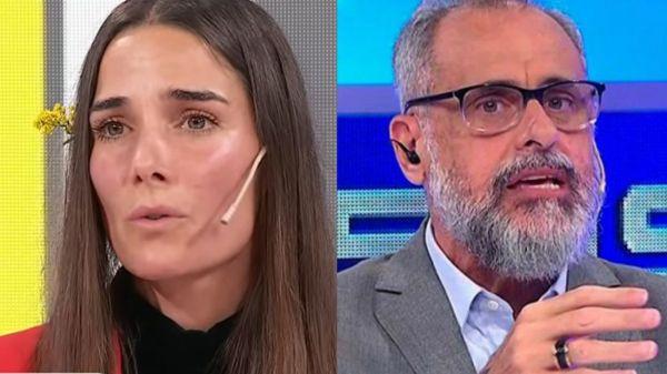 Juana Viale y Jorge Rial