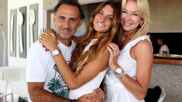 Yanina Latorre, Diego Latorre y Lola Latorre