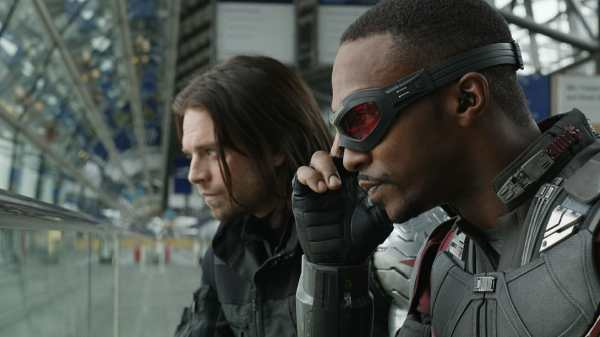 Falcon ANd The Winter Soldier Disney