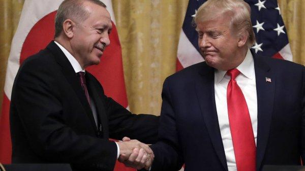 Erdogan agradece a Trump