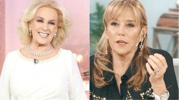 Mirtha Legrand y Marcela Tinayre