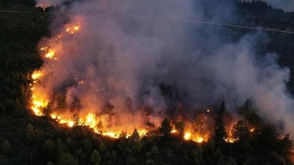 incendio en El Bolsón