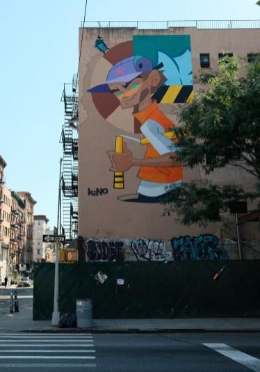 New York street art by Kanokid