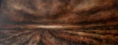 Landschaft_oil on canvas, 100x40cm_08XII.2012