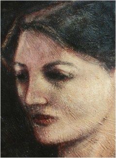 Ritratto di Olja_77x48_1999_Belgrade, Serbia_Private Collection