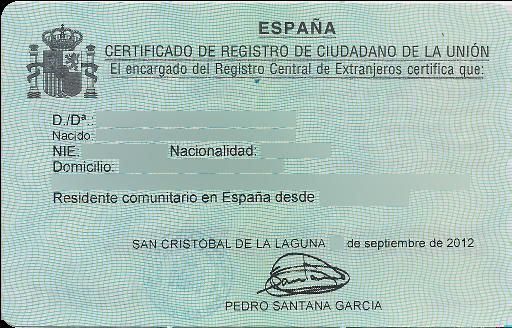 How to get NIE number in Spain?