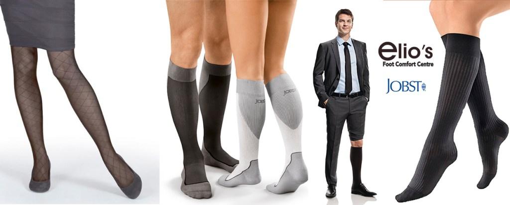 Compression stockings Niagara at Elio`s Foot Comfort Centre