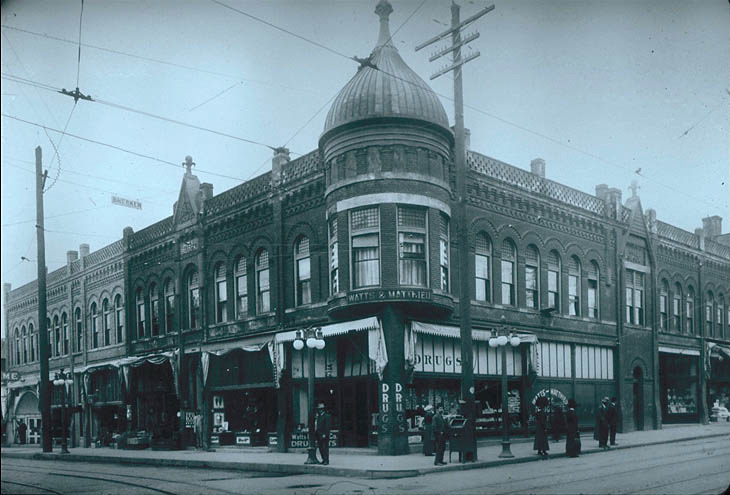 Hill Block Building - 1910