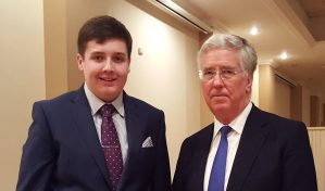 Eliot Smith and Michael Fallon