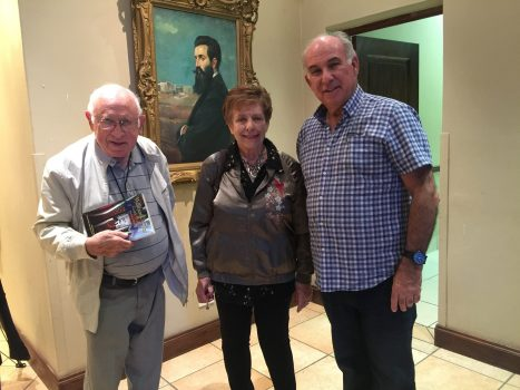 Professor Russel Lurie and Angela Lurie at Beyachad