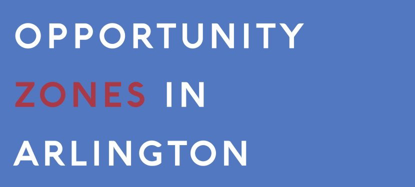 Opportunity Zones in Arlington