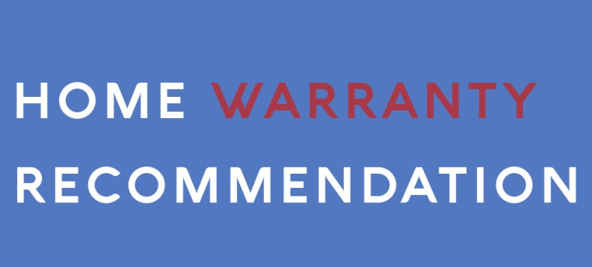 Home Warranty Recommendation