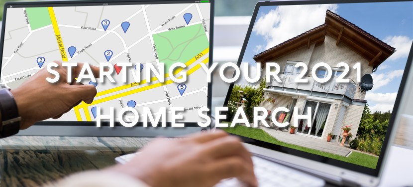 Starting Your 2021 Home Search