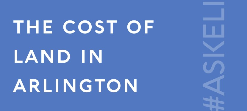 The Cost of Land in Arlington