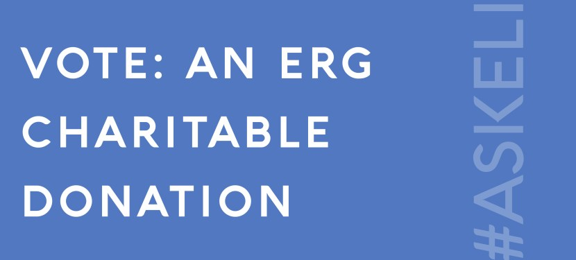 VOTE: An ERG Charitable Donation