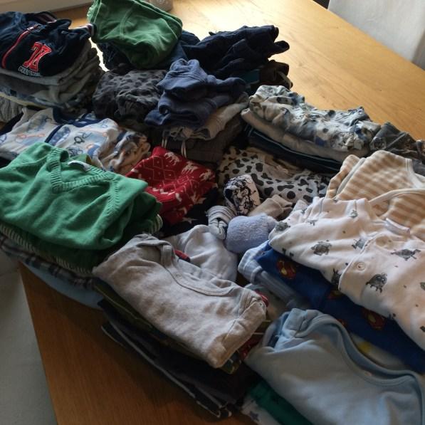 Eneste måten å få alle disse klærne til 450 kroner på er å kjøpe brukt