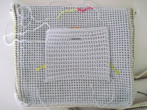back pocket foldover/crossbody bag