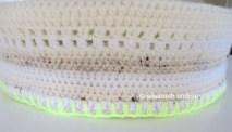 crochet basket upside down edge