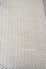 crochet stitch pattern with clusters