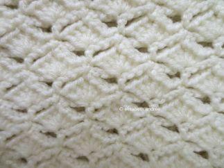 stitch pattern: shells