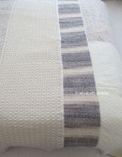 patchwork blanket is finished