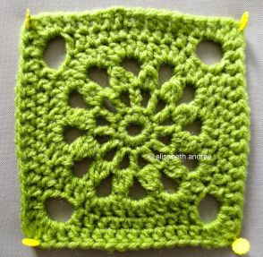 another square green version
