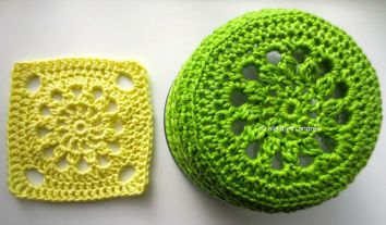 different use of one round motif