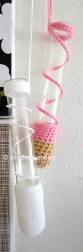 crochet hangers for glass tubes