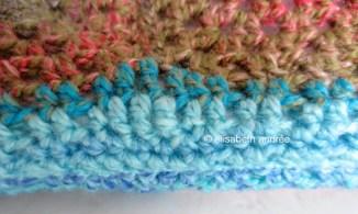 doggie bed stitch detail