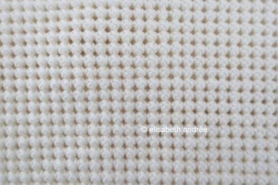 work in progress crochet stitches