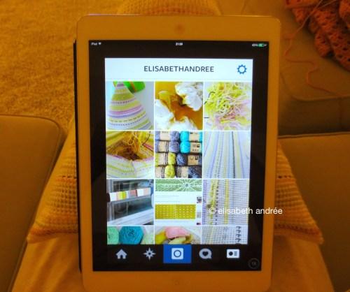 crochet pyramid for iPad