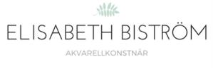 Elisabeth Biström akvarellkonstnär logo