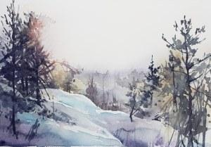 Akvarell a Elisabeth Biström