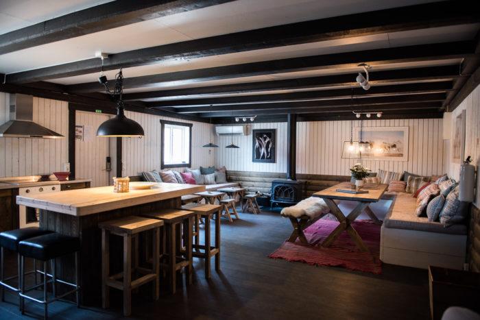 Caféet på Sanda Gård