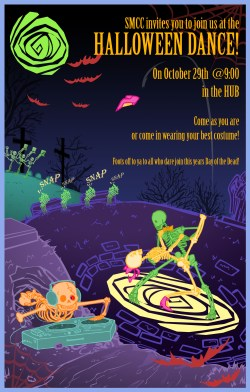 Halloween Poster For CeSIL