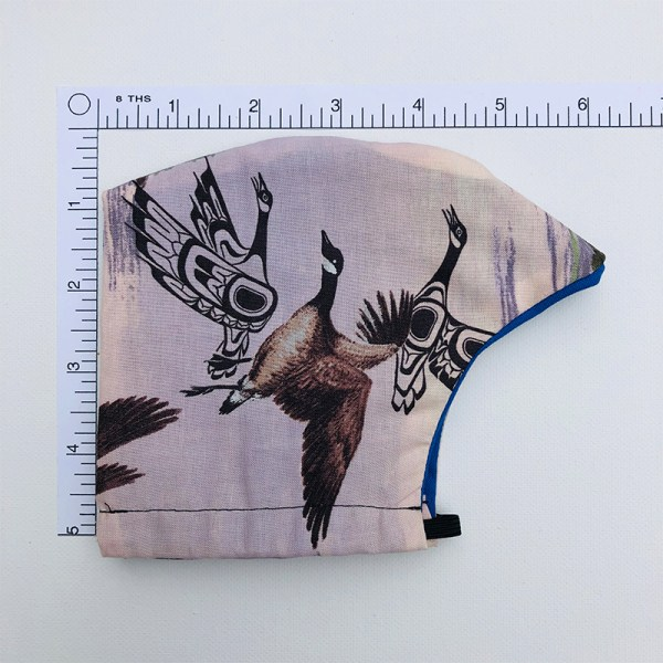 Mask Canada Geese Side