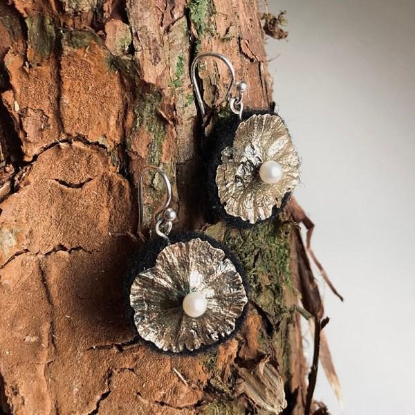 Earrings Bronze_Flowers