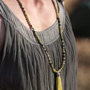 Necklace Lemony_Tassel