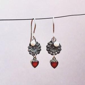 Earrings Vintage Love