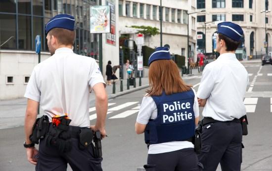Belgisk polis Copyright: VanderWolf Images/Dreamstime.com