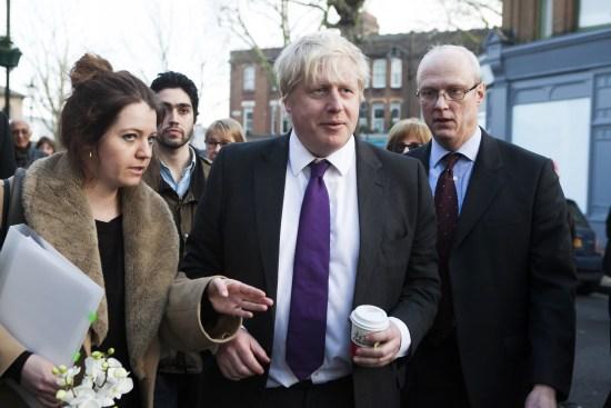 Boris Johnson, f d borgmästare i London Foto: Wikimedia Commons