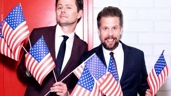 Jag deltog i Filip & Fredriks valvaka i Kanal 5 i morse Foto: Femman