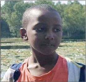 8-årige Yousuf Warsame blev det oskyldiga offret för en hämndaktion mot en lägenhet på Dimvädersgatan i Göteborg. Foto: Privat
