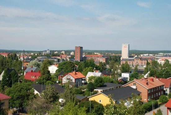 Här i Teg i Umeå blev en man i 40-årsåldern utsatt för ett mordförsök. Bild: umea.se
